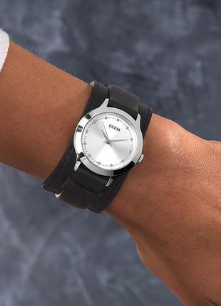 Часы guess с двойным кожаным ремешком
