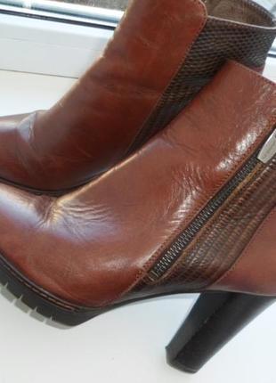 Кожаные сапоги, ботинки 37