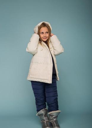 Зимняя курточка для активной девочки