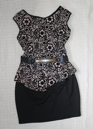 Платье новое баска с ремешком