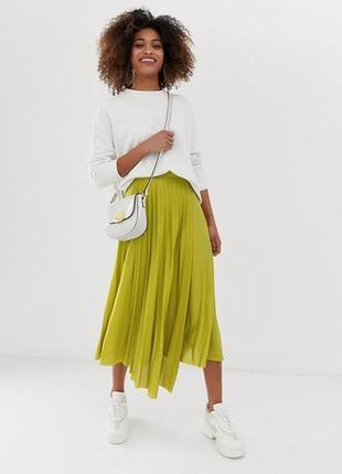 Стильная юбка плиссе