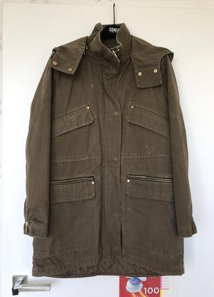 Куртка-парка 2 в 1. размер м