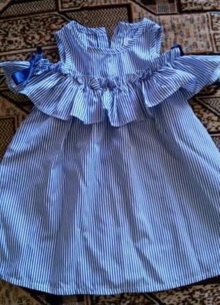 Платье на девочку1 фото