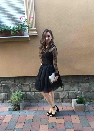 Little black dress sherri hill маленьке чорне плаття