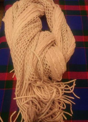 Нежньій ажурний шарф