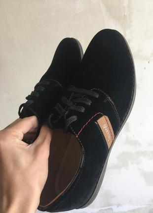 Мужские туфли велюр в идеале