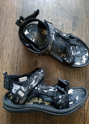 Босоножки 30р, сандали спортивные, хаки
