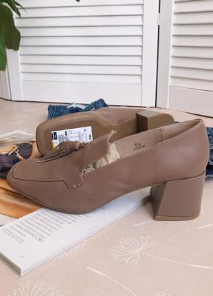 Туфли в винтажном стиле