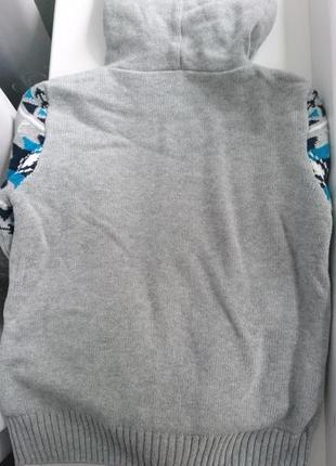Очень теплая кофта мальчику бренд джимбори gymboree .2 фото