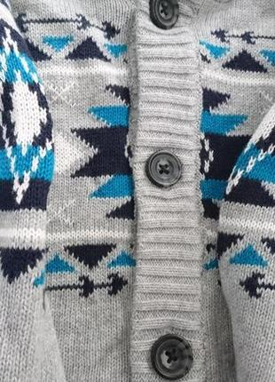 Очень теплая кофта мальчику бренд джимбори gymboree .3 фото