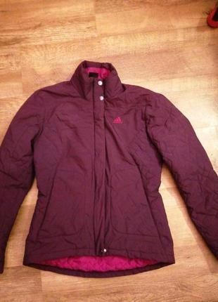 Курточка лыжная адидас