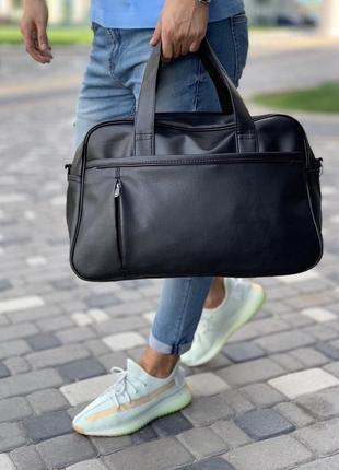 🔥хит черная сумка из эко-кожи