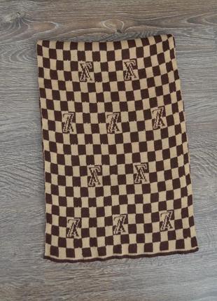 Стильный классический шарф  louis vuitton ® sharf