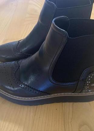 Ботиночки челси с шипами 38р