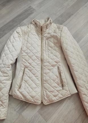 Отличная демисезонная куртка zara, размер xs - s