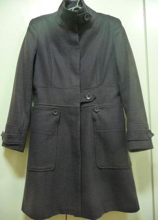 Стильное  пальто для модницы.