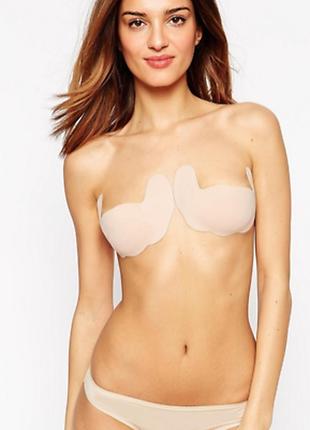 Многоразовые силиконовые наклейки на грудь fashion forms