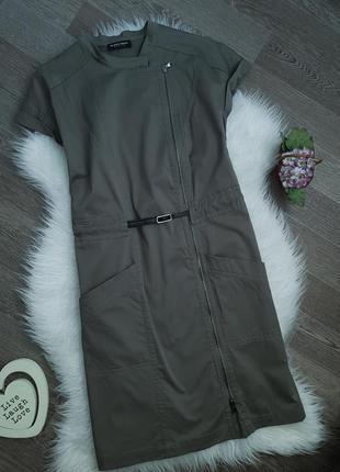 💕 брендовое платье милитари хаки blacky dress berlin