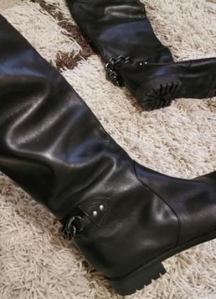 Сапоги демисезонные кожа чёрные marc jacobs  36