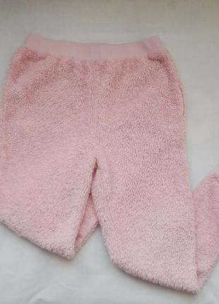 Тёплые розовые пижамные штаны, брюки asos
