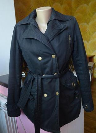 Крутое тёплое пальто jennyfer