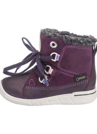 Ботинки для девочки ecco gore-tex размер 26