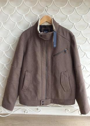 Базовая классическая шерстяная куртка broadway nyc