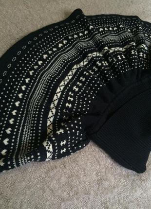 Теплая юбка; зимняя юбка; орнамент; atmosphere; м-l; торг