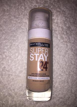 Тональный крем мейбелин super stay, номер 21( тестер)