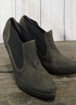 Туфли manfield, кожаные