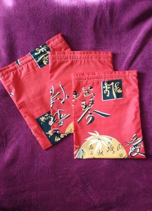 Набор эко-мешок/мешочек-сумочка для хранения грибов, трав, сушки, круп, вещей и даже обуви