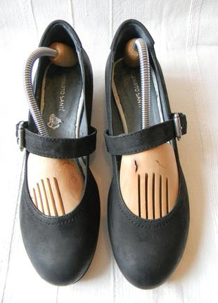 Roberto santi-туфли кожаные р.39 (25,5 см)