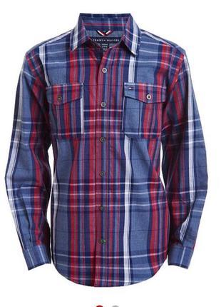 Рубашка на мальчика tommy hilfiger