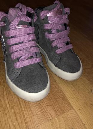 Ботинки демисезонные geox на девочку , 24 размер