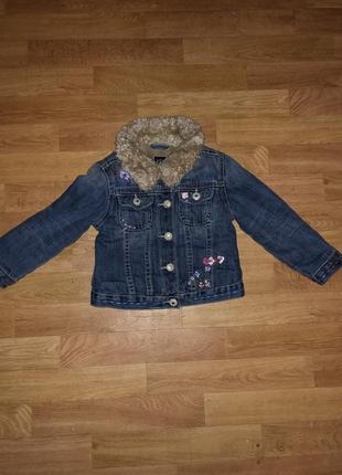 Курточка демисезонная gap на девочку