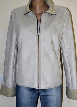 Мягенькая куртка, дубленка next