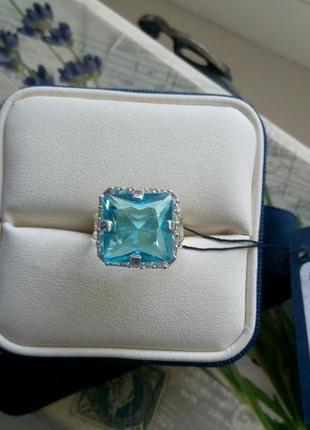 Безумно красивое кольцо серебро 925 пробы