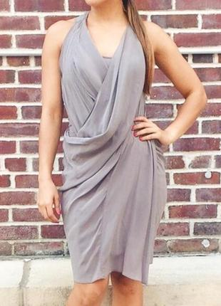 Шелковое платье от культового британского бренда allsaints