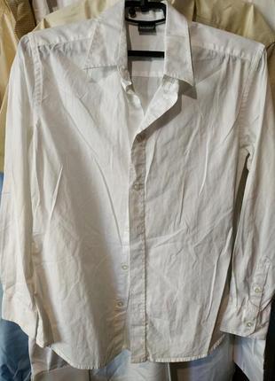 Рубашка подростковая белая