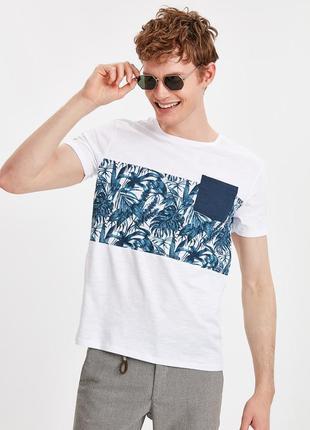 Lcw чоловіча футболка мужская турецкий бренд lc waikiki вайкики 1692