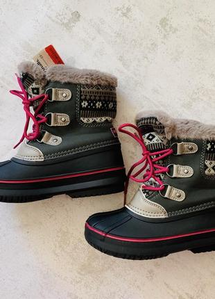 Зимние ботинки london fog usa 13 размер
