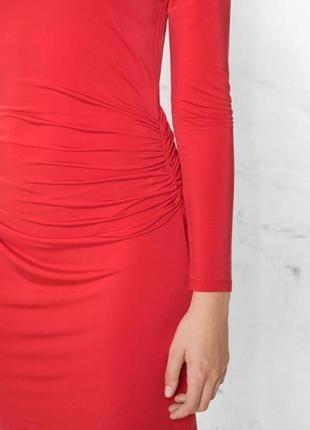 Шикарное красное платье & other stories размер s m l