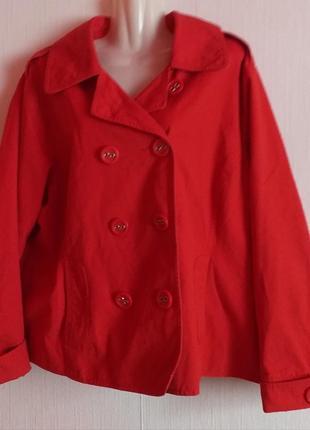 Катоновая демисезонная курточка пиджак раз.22 нюанс!!!
