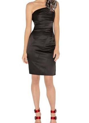 Платье вечернее , коктейльное, чёрное karen millen