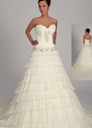 Cвадебное платье от лиза донетти