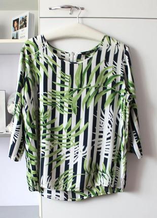 Мягенькая рубашка в полоску и тропичный принт от only
