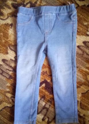 Лосины под джинс, джинсы