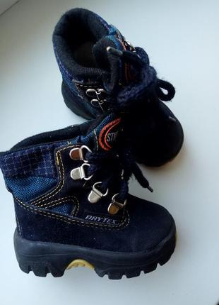 Теплые деми ботинки сапоги на мальчика