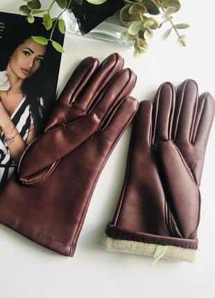 Женские осенние перчатки