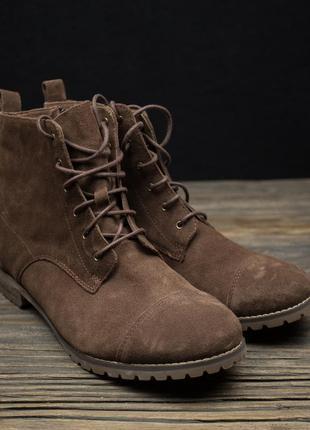 Замшеві ботиночки р-41